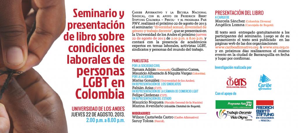 Condiciones laborales de personas LGBT en Colombia