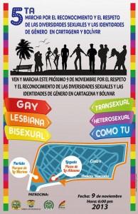 V Marcha Diversidad LGBT Cartagena