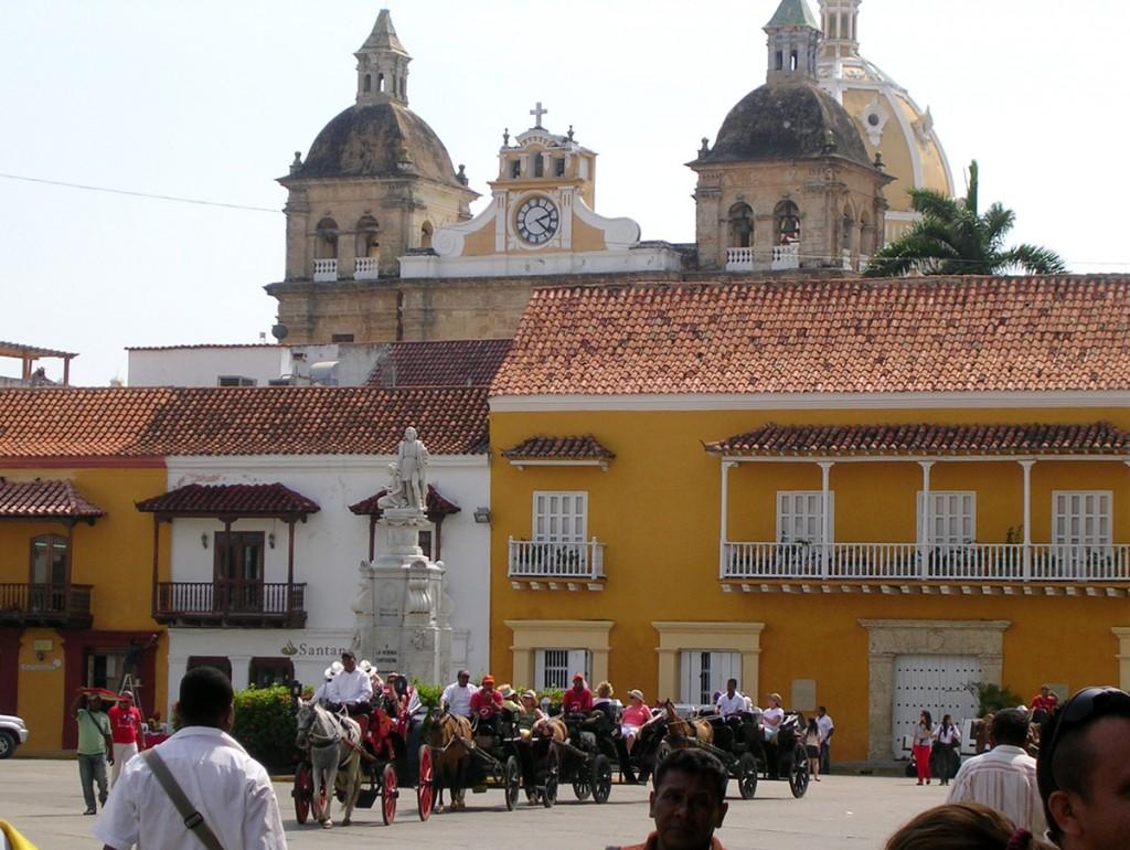Plaza de la Aduana de Cartagena.